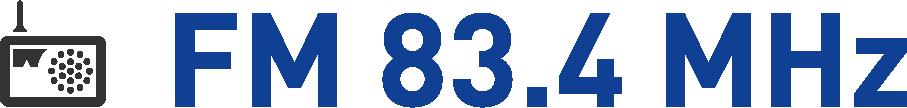 FM83.4MHz